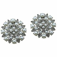 """Jewelled Shoe Clips, Shoe Jewels, Bridal Prom Shoe Accessories (1 Pair) """"Isobel"""""""