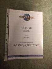 Roméo Juliette comédie musicale partition Vérone Presgurvic piano chant accords