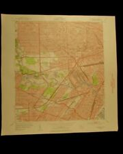 Dearborn Michigan vintage 1954 original USGS Topographical chart
