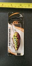 NEW OLD STOCK BOMBER MODEL A FISHING LURE PURPLE CRAW