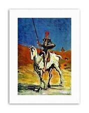 FIGURE HORSE DAUMIER DON QUIXOTE Painting Portrait Canvas art Prints