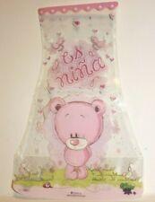 "1 Plastic Foldable Flower Vase great for Baby Showers, Hospital Gift ""Es Niña"""