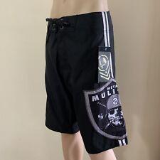 Metal Mulisha Men's Raider Boardie Short Boardshorts Size 32