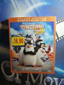 I PINGUINI DI MADAGASCAR (3D) (Blu-Ray 3D+Blu-Ray+Dvd) ..Blu Ray..NUOVO