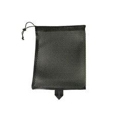 Durable Nylon Mesh Drawstring Bag 2 Psc - Mesh Ditty Bag For Equipment Storage