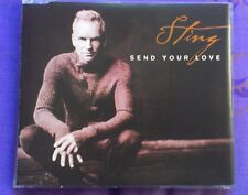STING -SEND YOUR LOVE - CD SINGLE