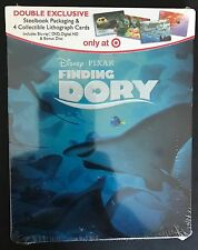 DISNEY PIXAR FINDING DORY TARGET EXCLUSIVE STEELBOOK(BLU-RAY+DVD+DIGITAL HD