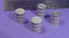 S SCALE Sn3 1/64 WISEMAN MODEL SERVICES DETAIL PARTS: S348 METAL OIL DRUMS