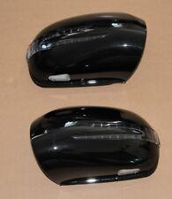 Spiegelkappen mit LED Blinker für Mercedes W164 ML X164 W251 in Schwarz 197