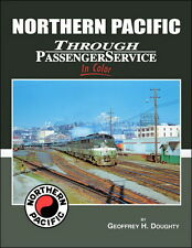 Northern Pacific Through Passenger Service In Color / Railroads / Trains