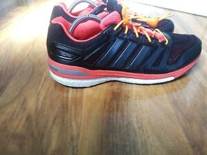 Adidas Supernova Sequence 7 Boost mens running shoes, size 9 UK M29713