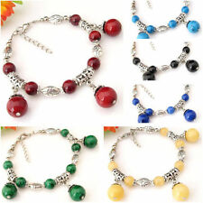 Coral Tibetan Silver Fashion Bracelets