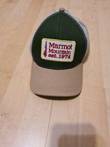 marmot green  cap