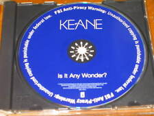 KEANE - Is It Any Wonder? - 1 Track DJ PROMO CD! RARE! Interscope INTR-11791-2