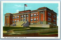 VNTG Postcard~ Garland-Rodes High School~ Lynchburg, Virginia~ c831