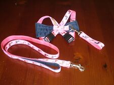 Dog Coats: Yuppy Yaps Mini Dachshund harness set No 1 assorted colours