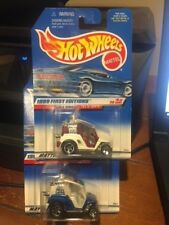 1999 Hot Wheels First Editions Lot Of Two Tee'd Off #683 Color Variations