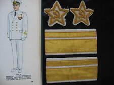UdSSR 2 Ärmelsterne Sterne für alle Admiral Kriegsmarine Flotte  Parade  Uniform