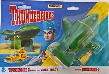 ~ Thunderbirds - DIECAST MATCHBOX 1992 THUNDERBIRD 2 + 4 VINTAGE TYCO TOYS