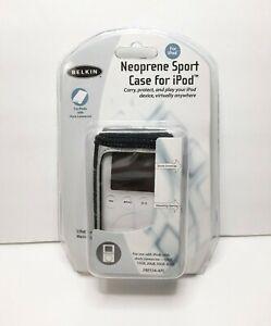 BELKIN Neoprene Sport Holster Case ~Fits ALL Gen Apple iPod Classic w Dock Conn