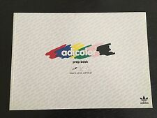 New Rare Adidas Adicolor Prep / coloring Book
