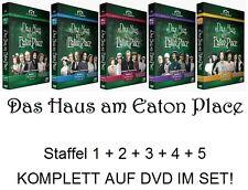 Das Haus am Eaton Place - Staffel 1+2+3+4+5 KOMPLETT, 5 x 4 DVD Set NEU + OVP!