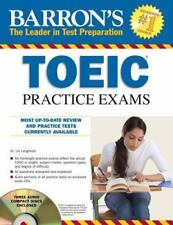 Barron's TOEIC Practice Exams with 4 Audio CDs-ExLibrary