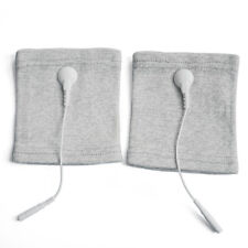 Pair of Conductive Fiber Massage Wristbands TENS Wrist Brace For TENS/EMS Units