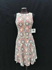 """ANNE KLEIN DRESS/NEW WITH TAG/LINED/RETAIL$149/SIZE 12/ORANGE/length 39""""/"""