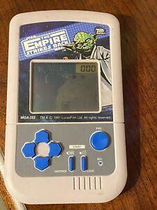 1991 Star Wars The Empire Strikes Back Electronic Handheld Game MGA-222 L@@K!!!