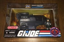 NEW Hasbro GI JOE NIGHT SPECTER with GRAND SLAM ATTACK ON COBRA ISLAND