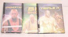 Lot of 3 Epic: Wrestling Superstars Books - Triple H, Undertaker & The Big Show