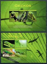 2017 Saint Vincent, lizards, Geckos, S/sheet+sheet, MNH