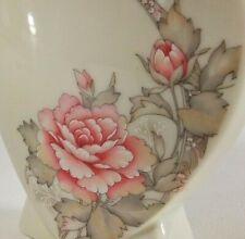 Russ Berrie Holder Heart Toothbrush Pencil Pen Flower Ceramic 5045