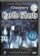 CASTLE GHOSTS OF ENGLAND, IRELAND, SCOTLAND & WALES - NEW DVD - FREE LOCAL POST