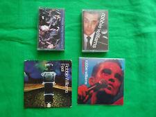 Robbie Williams - lots 2 cd single , 2 cassette audio , très bon état