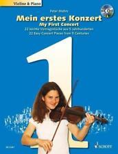 Mein erstes Konzert - 22 leichte Vortragsstücke für Violine und Klavier P. Mohrs