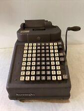 Vintage Burroughs Mechanical Adding Machine Calculator Tape Register B23923