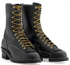 """Wesco Highliner 10"""" Black Boots 9710"""