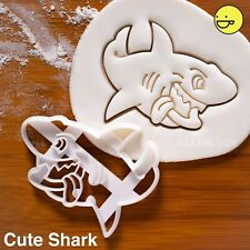 Shark cookie cutter | marine ocean kids party discovery conservation biscuit
