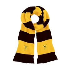 Retro Watford 1970s Little Hornet Traditional Football Scarf Embroidered Logo