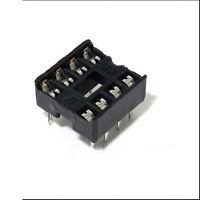 20PCS 8 Pin DIP8 Integrated Circuit IC Sockets Adaptor Solder Type Best Fine HP