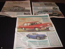 Range Rover Fiat Panda Porsche 924 Sierra XR4x4 Mini Mercedes W123 Jag XJ6 Lada
