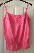 BHS Pink Strappy Summer Top, Size 22 - Lovely!