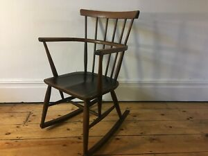 Vintage Comb Back Rocking Chair ( 1 of 2 available )