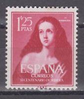 ESPAÑA (1954) SIN FIJASELLOS - EDIFIL 1129 VIRGEN MARIA POR RIBERA SPANIEN