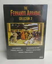 Fernando Arrabal Collection 2 (DVD) Limited Edition 2000 pcs! Emperor Of Perou..