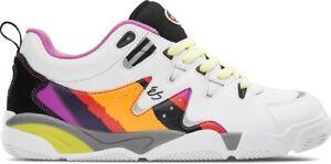 eS SYMBOL Skate Shoes WHITE PURPLE