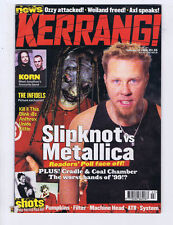 SLIPKNOT / METALLICA / KORN Kerrang No. 785 Jan 22 2000