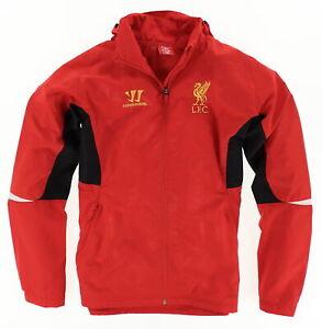 Warrior Herren Jacke Jacket Gr.M Trainingsjacke FC Liverpool Rot 109668
